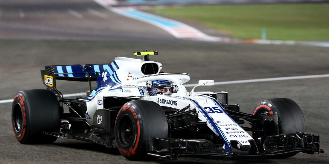 Sergey Sirotkin - Formel 1 - GP Abu Dhabi 2018