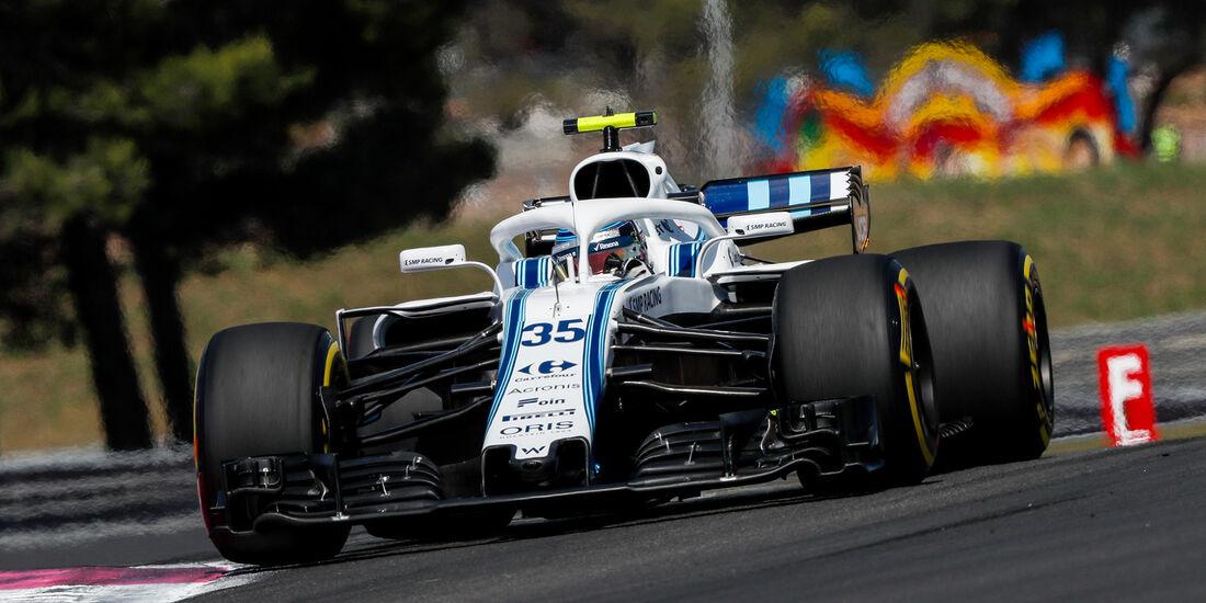 Sergey Sirotkin - Formel 1 - GP Frankreich 2018