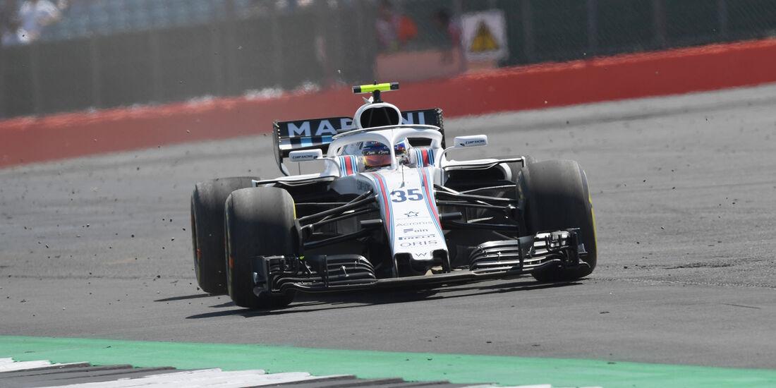 Sergey Sirotkin - GP England 2018