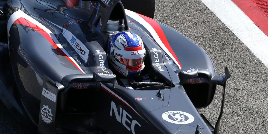 Sergey Sirotkin - Sauber - Formel 1 - Test 1 - GP Bahrain 2014