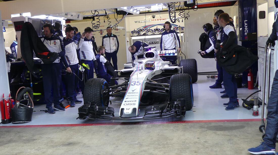 Sergey Sirotkin - Sauber - Formel 1 Test - Barcelona - Tag 4 - 1. März 2018