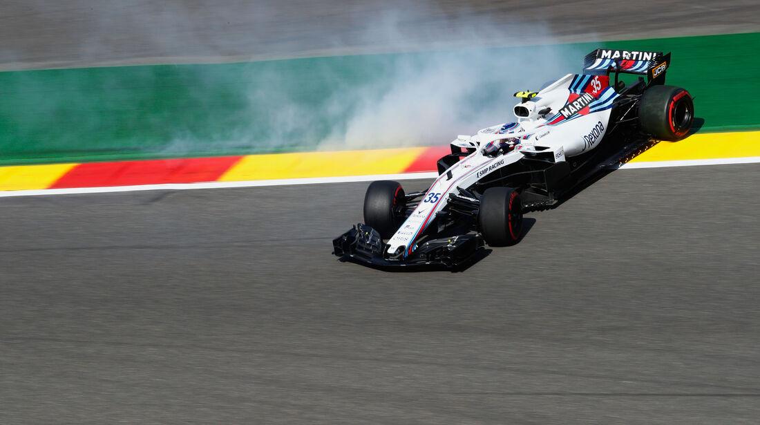 Sergey Sirotkin - Williams FW41 - GP Belgien 2018