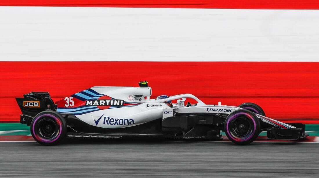 Sergey Sirotkin - Williams - Formel 1 - GP Österreich - 30. Juni 2018