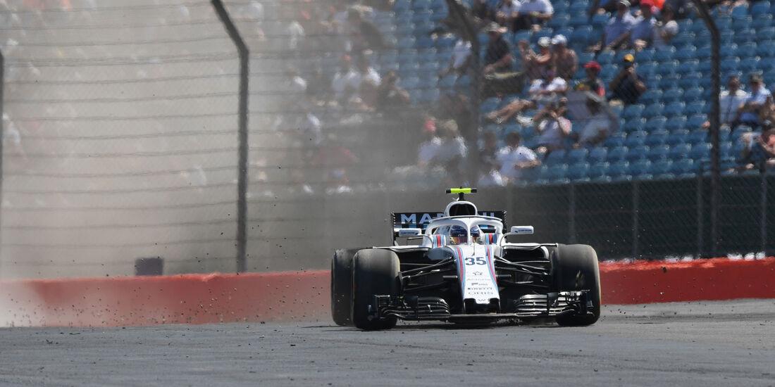 Sergey Sirotkin - Williams - GP England - Silverstone - Formel 1 - Samstag - 7.7.2018