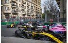 Sergio Perez - Carlos Sainz - Formel 1 - GP Aserbaidschan - 29. April 2018