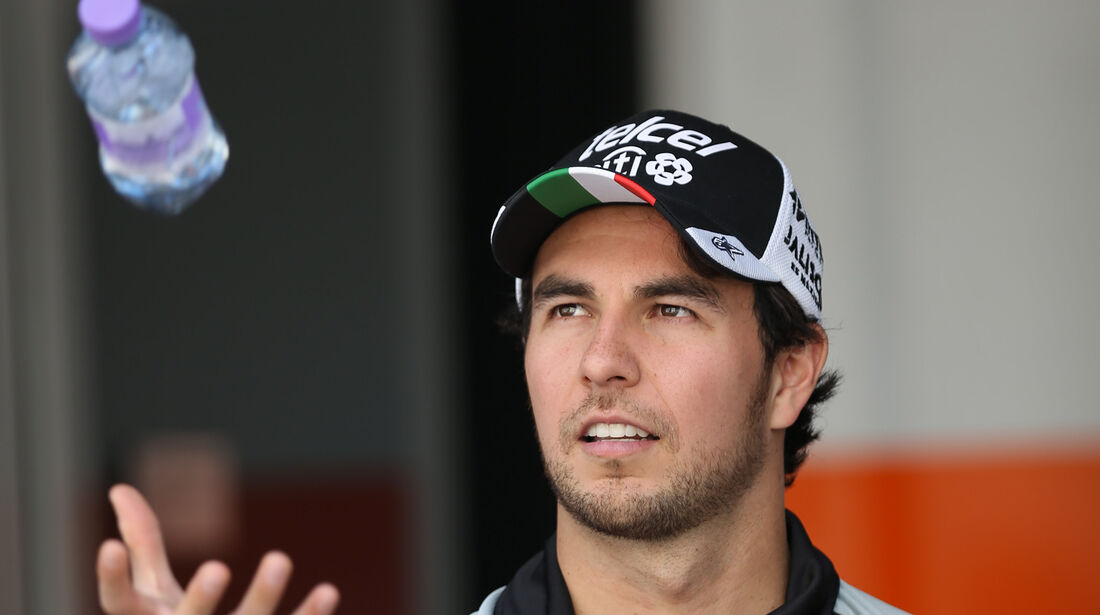 Sergio Perez - Force India - Formel 1 - GP Abu Dhabi - 24. November 2016