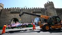 Sergio Perez - Force India - Formel 1 - GP Aseerbaidschan 2017 - Training - Freitag - 23.6.2017