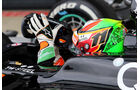 Sergio Perez - Force India - Formel 1 - GP England - Silverstone - 5. Juli 2014