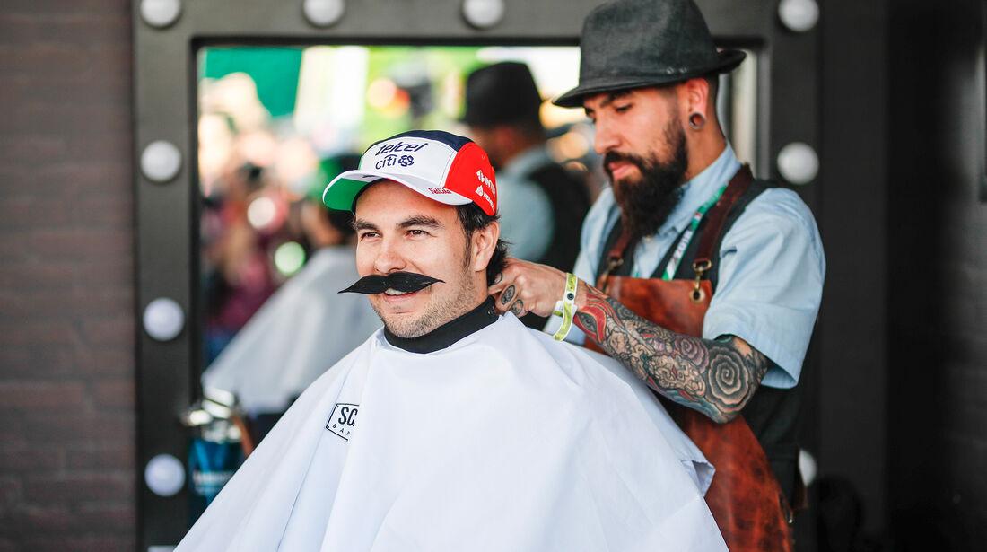 Sergio Perez - Force India - Formel 1 - GP Mexiko - 25. Oktober 2018