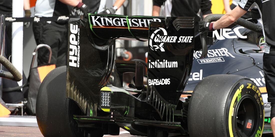 Sergio Perez - Force India - Formel 1 - GP Monaco - 26. Mai 2016