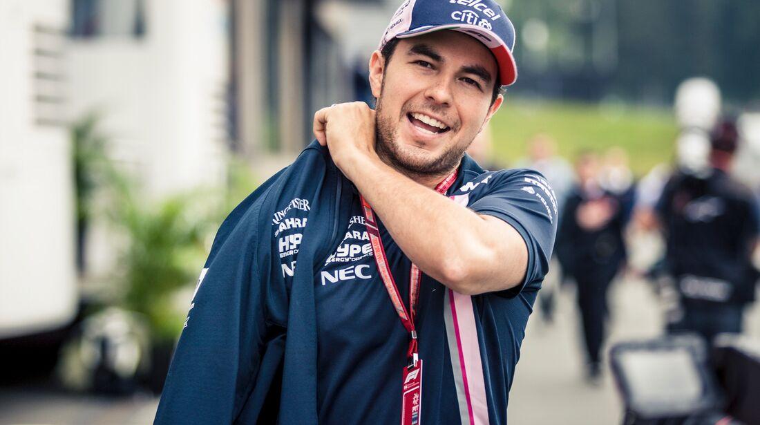 Sergio Perez - Force India - Formel 1 - GP Österreich - 29. Juni 2018