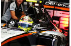 Sergio Perez - Force India  - Formel 1 - GP Russland - 29. April 2016