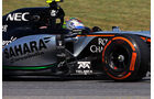 Sergio Perez - Force India - Formel 1 - GP Spanien - Barcelona - 8. Mai 2015
