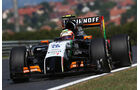 Sergio Perez - Force India - Formel 1 - GP Ungarn - 25. Juli 2014