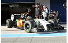 Sergio Perez - Force India - Formel 1 - Jerez-Test - 28. Januar 2014