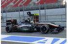 Sergio Perez - Force India - Formel 1-Test - Barcelona - 19. Februar 2015