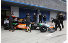 Sergio Perez - Force India - Formel 1 - Test - Jerez - 28. Januar 2014