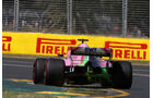 Sergio Perez - Force India - GP Australien 2018 - Melbourne - Albert Park - Freitag - 23.3.2018