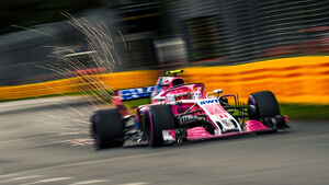 Sergio Perez - Force India - GP Australien 2018