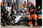 Sergio Perez - Force India - GP England - Silverstone - Rennen - Sonntag - 5.7.2015