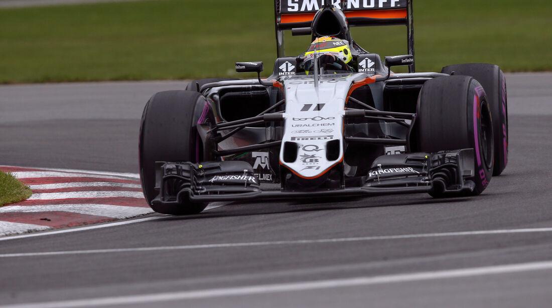 Sergio Perez - Force India - GP Kanada 2016 - Montreal - Qualifying