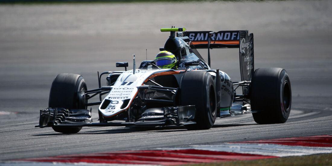 Sergio Perez - Force India - GP Malaysia 2016 - Sepang