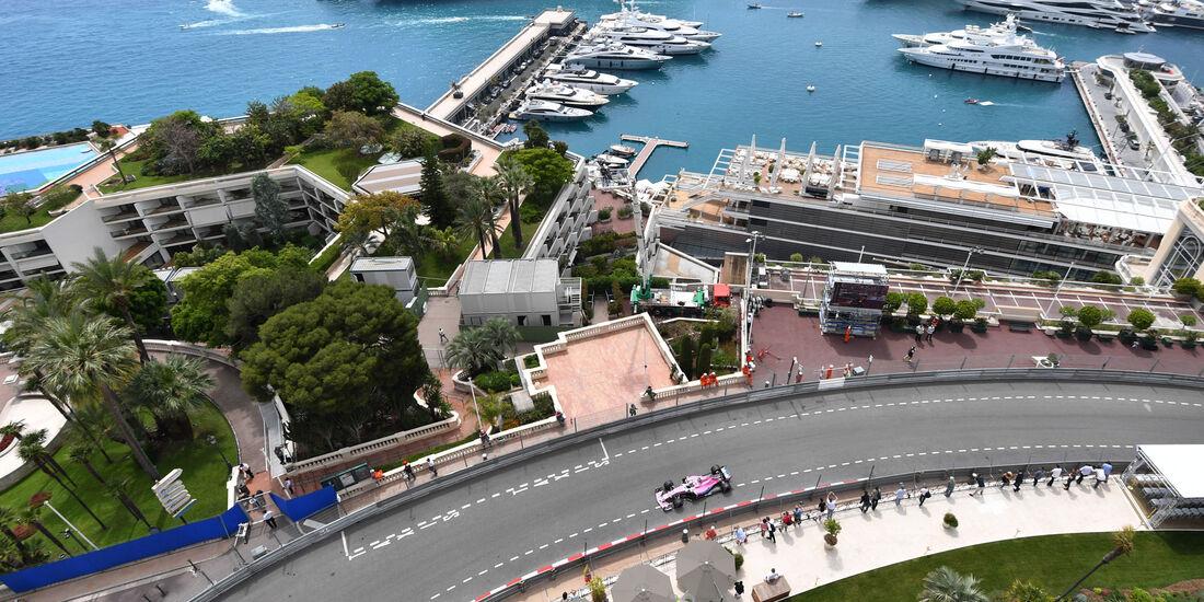 Sergio Perez - Force India - GP Monaco - Formel 1 - Donnerstag - 24.5.2018