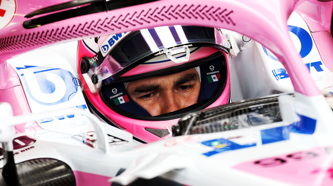 Sergio Perez - Force India - GP Monaco - Formel 1 - Donnerstag - 24.5.2018