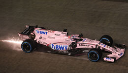 Sergio Perez - Force India - GP Singapur 2017 - Rennen
