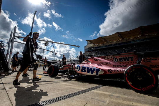 Sergio Perez - Force India - GP USA 2017 - Qualifying