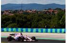 Sergio Perez - Force India - GP Ungarn - Budapest - Formel 1 - Freitag - 28.7.2017