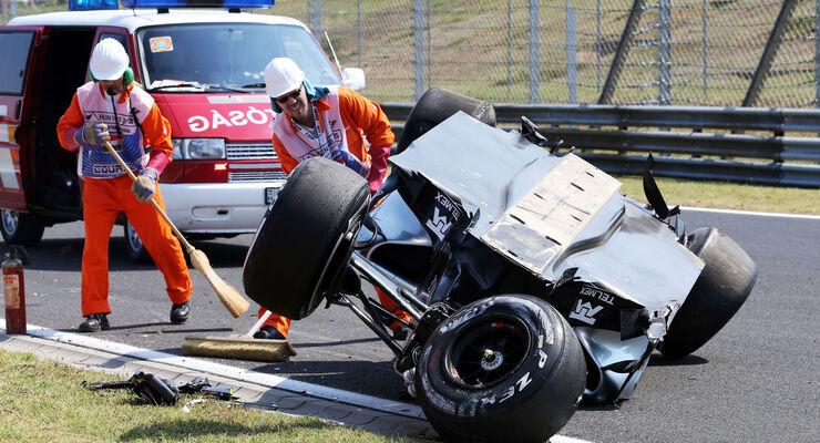 Sergio Perez - Force India - GP Ungarn - Freitag - 24.7.2015