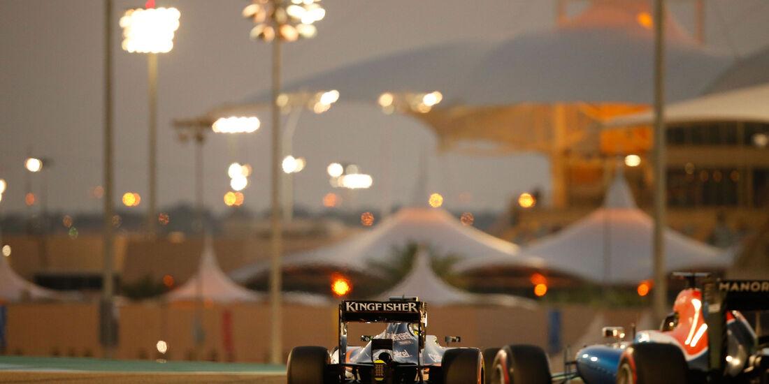 Sergio Perez - Force India - GP bahrain 2016