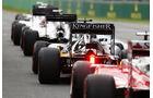 Sergio Perez - Force Indiaebastian Vettel - Ferrari - Formel 1 - GP Australien - Melbourne - 19. März 2016