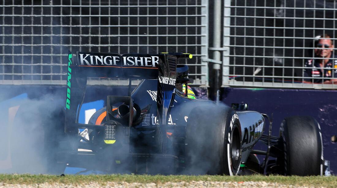 Sergio Perez - Formel 1 - GP Australien 2015