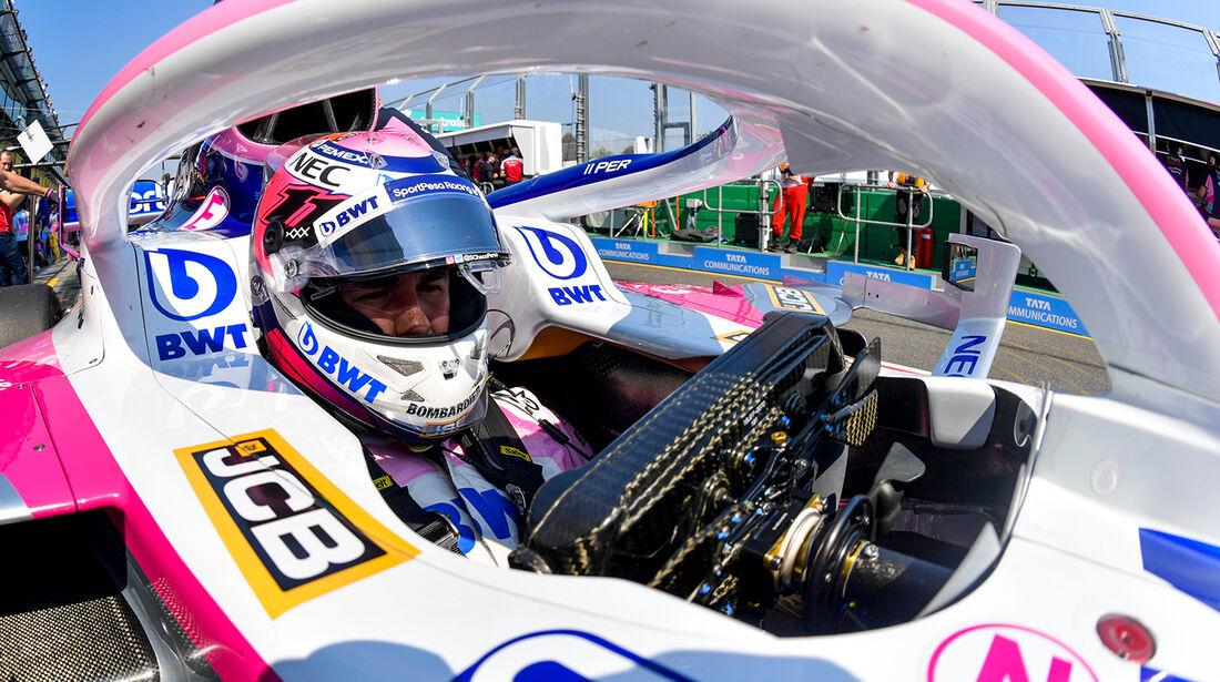 Sergio Perez - Formel 1 - GP Australien 2019