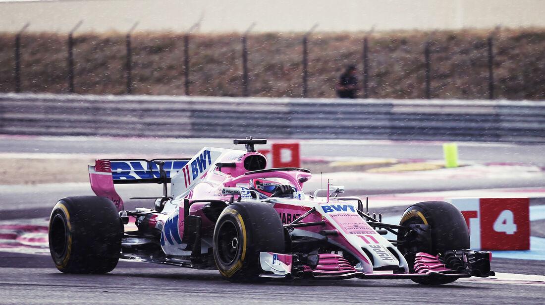 Sergio Perez - Formel 1 - GP Frankreich 2018
