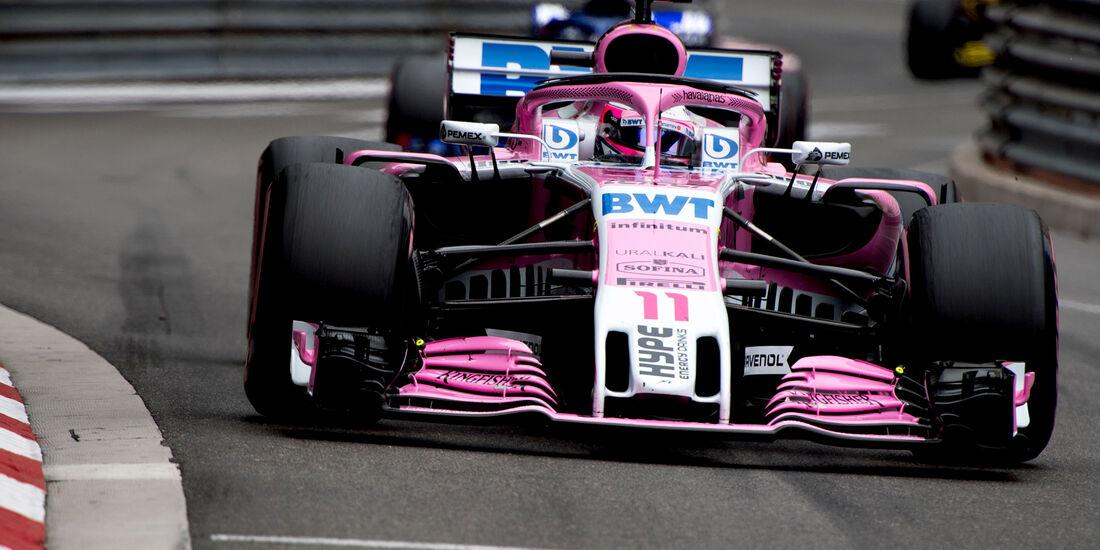 Sergio Perez - Formel 1 - GP Monaco 2018