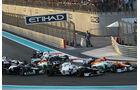 Sergio Perez GP Abu Dhabi 2012