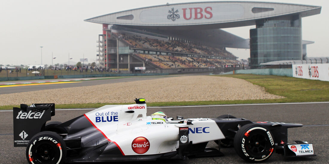 Sergio Perez GP China 2012