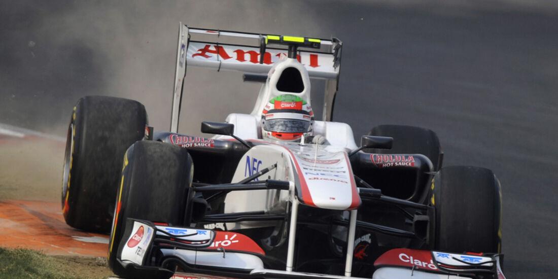 Sergio Perez - GP Indien - Delhi - 29.10.2011