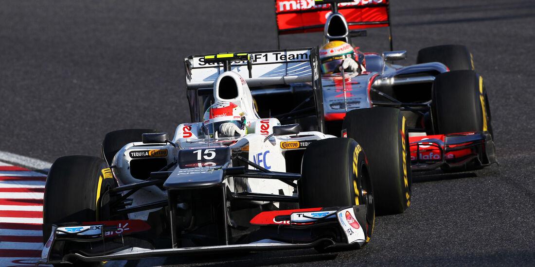 Sergio Perez GP Japan 2012