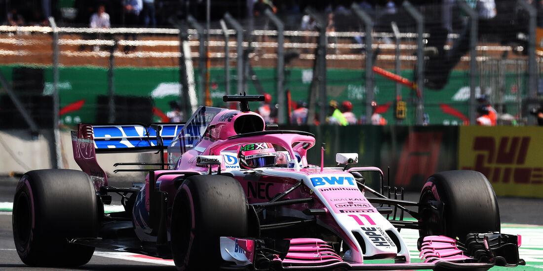 Sergio Perez - GP Mexiko 2018