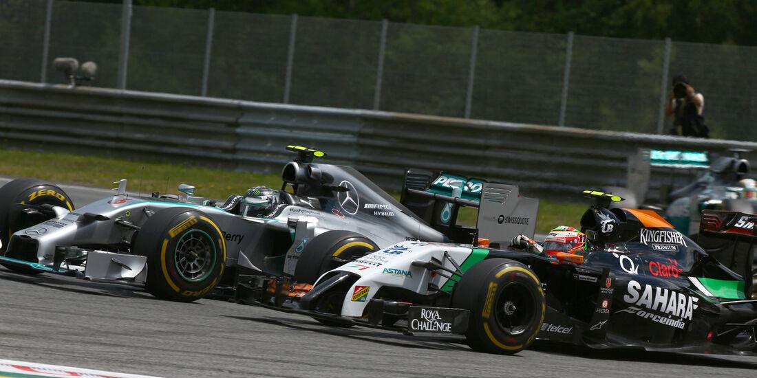 Sergio Perez - GP Österreich 2014