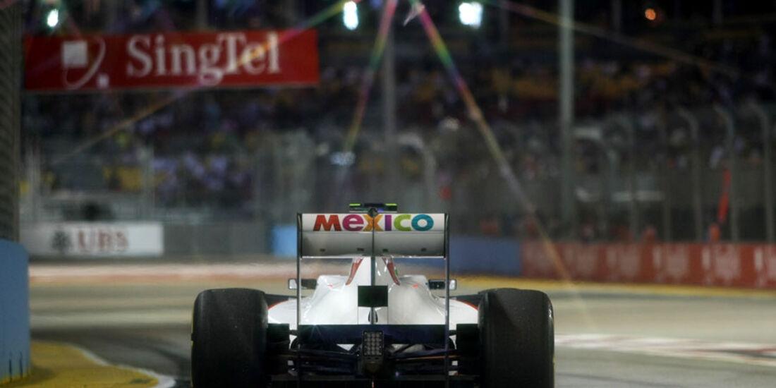 Sergio Perez GP Singapur 2011