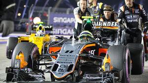 Sergio Perez - GP Singapur 2016