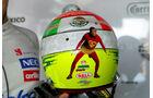 Sergio Perez Helm GP Monaco 2012