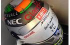 Sergio Perez - Jules Bianchi-Aufkleber - GP Ungarn 2015
