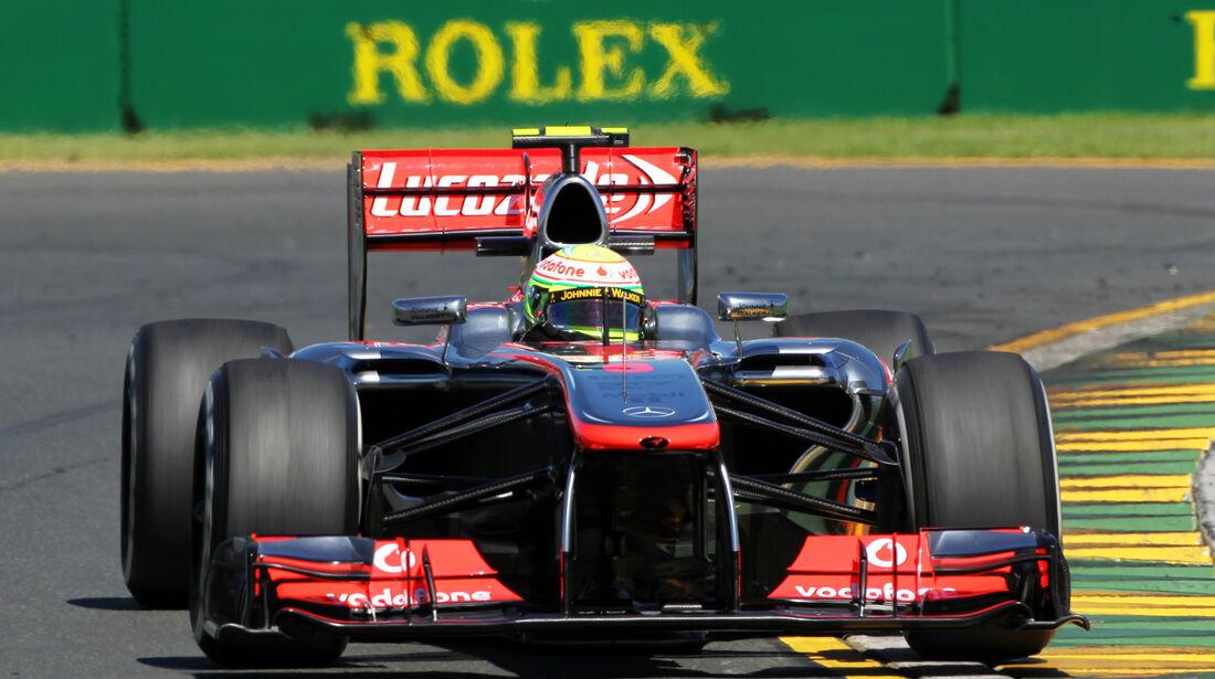 Sergio Perez - McLaren - Formel 1 - GP Australien - 15. März 2013