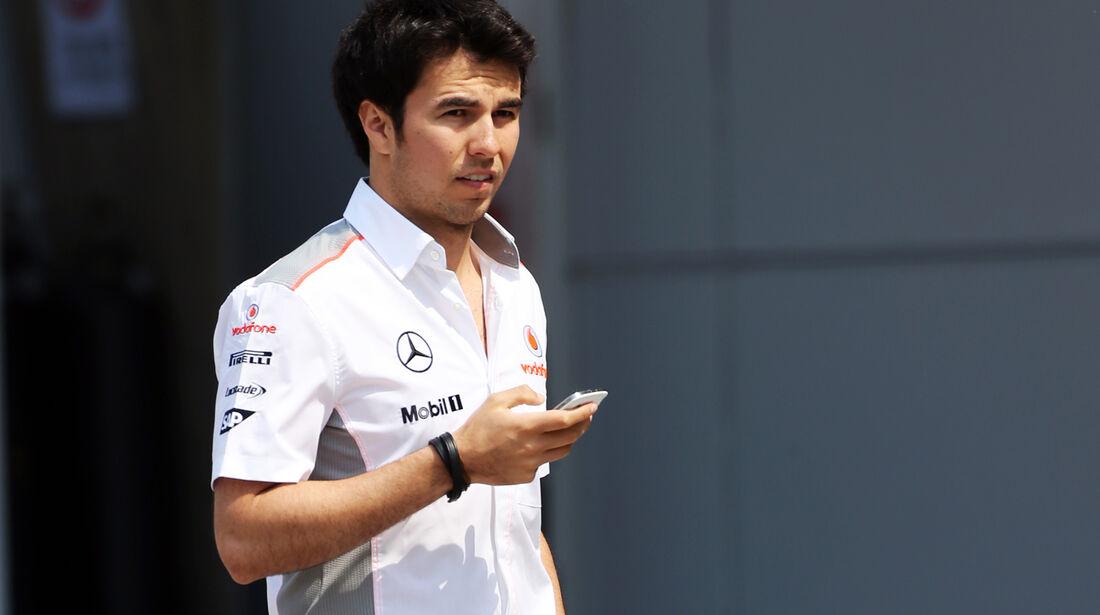 Sergio Perez - McLaren - Formel 1 - GP China - 11. April 2013